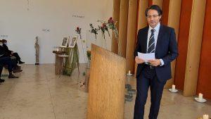 Trauerfeier bei Aetas mit Trauerredner Christuan G. Binder